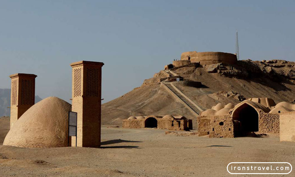 tower of silence, yazd