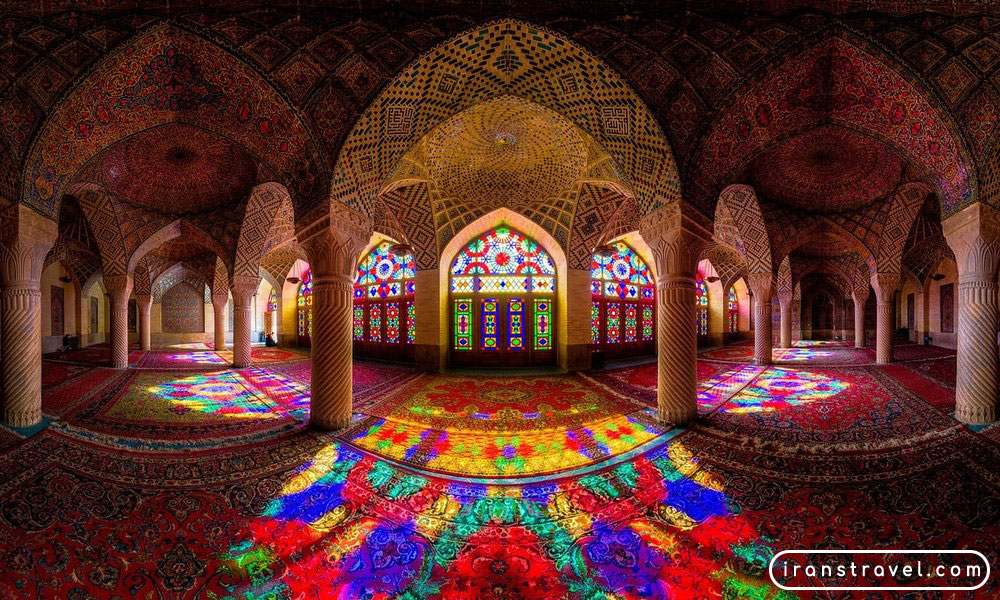 nasirolmolk mosque, shiraz